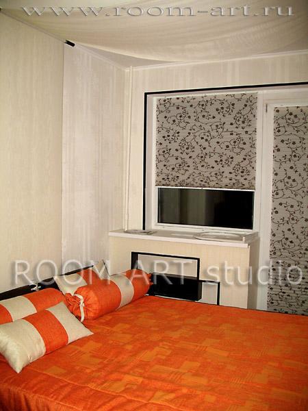 шторы и покрывало для спальни